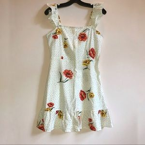 FOREVER 21 Floral Mini Dress with Tags